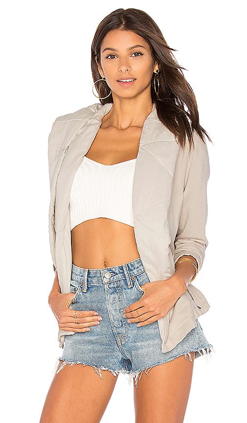 Young, Fabulous & Broke Brina Jacket in Light Gray