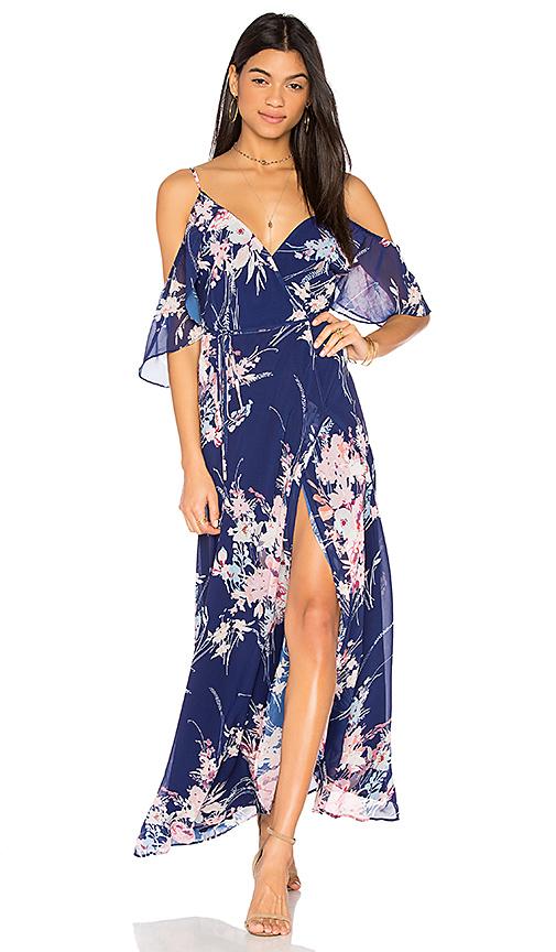 Yumi Kim Endless Love Maxi Dress in Navy