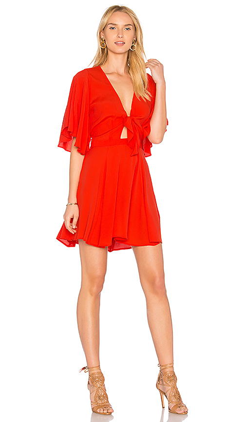 Yumi Kim Over the Edge Dress in Red