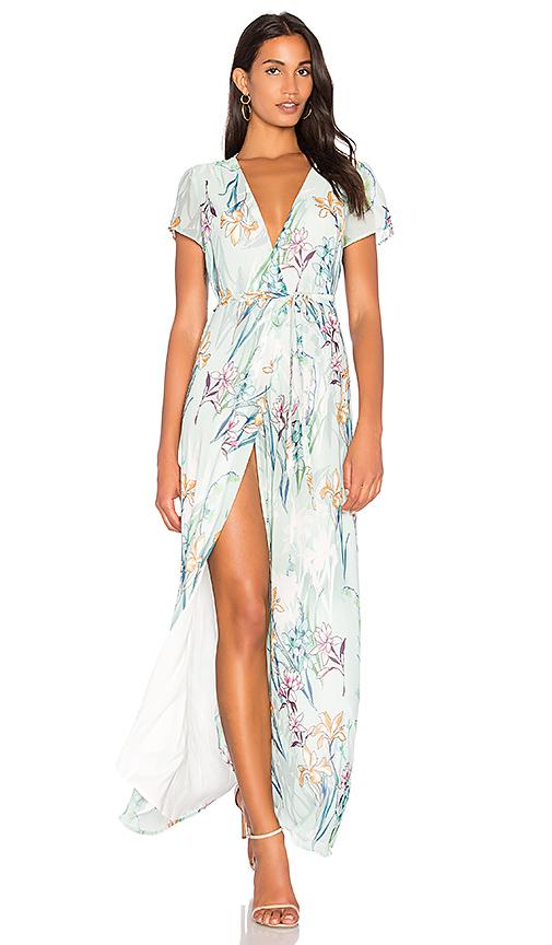 Yumi Kim Spring St Maxi Dress in Sage