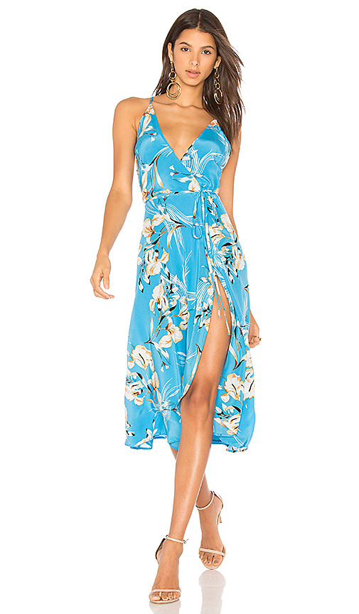 Yumi Kim City Lights Dress in Turquoise