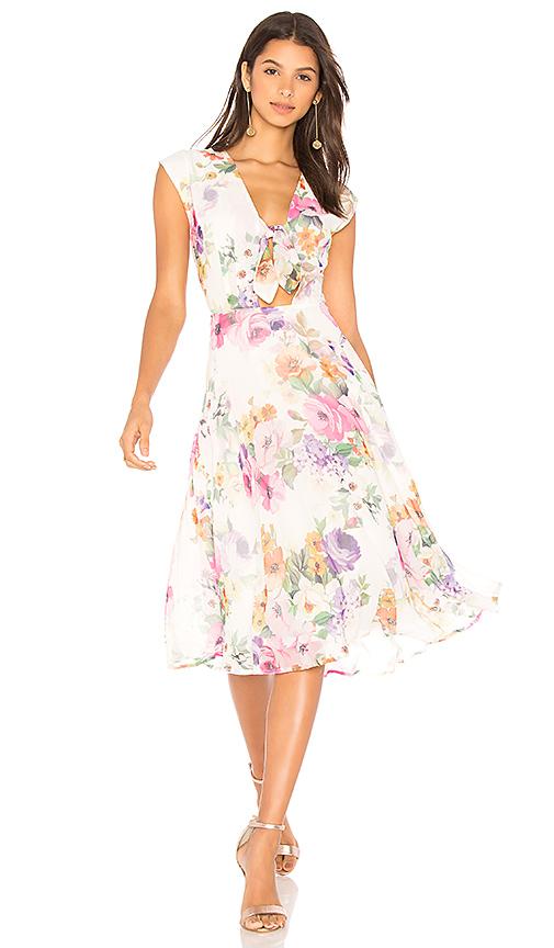 Yumi Kim Just a Peek Dress in Ivory