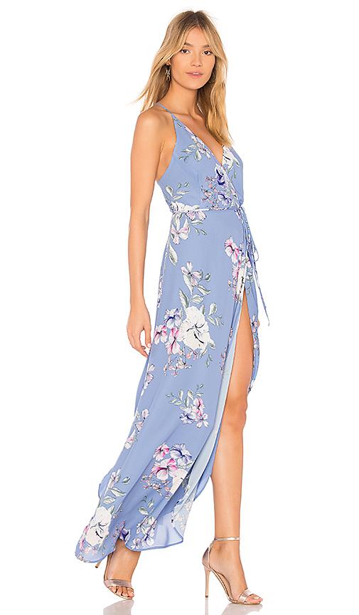 Yumi Kim Rush Hour Maxi Dress in Blue