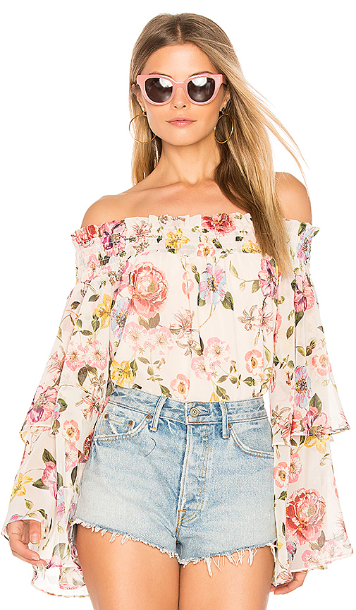 Yumi Kim Saved By The Bell Top in Pink