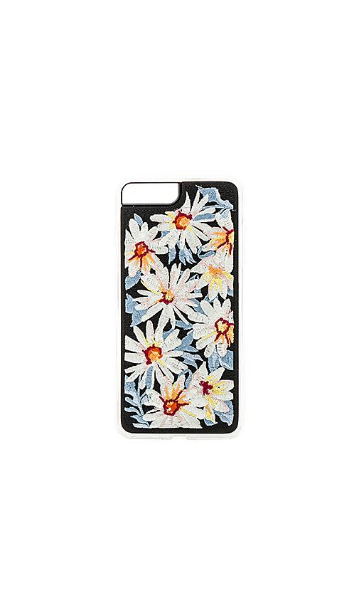 ZERO GRAVITY Daisy iPhone 7/8 Plus Case in Black