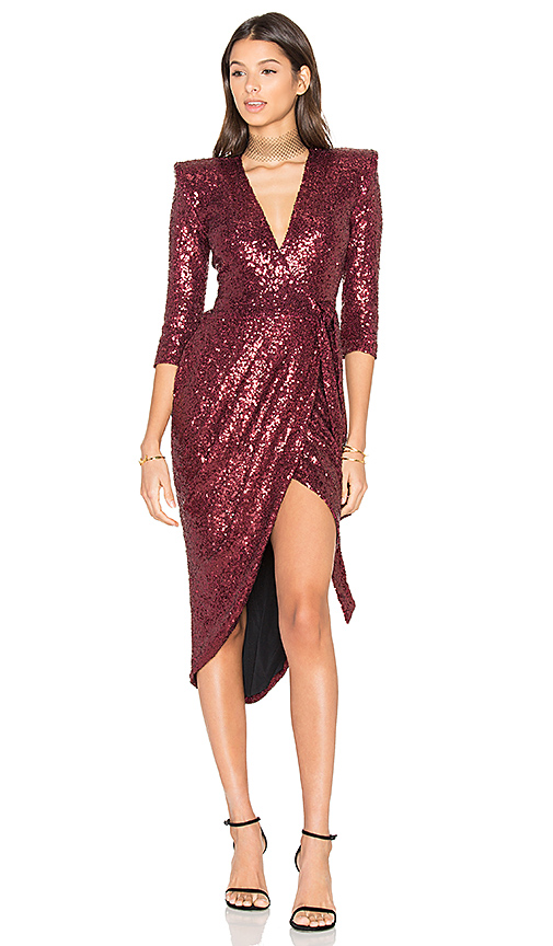 Zhivago x REVOLVE Kinsey Wrap Dress in Red. - size S (also in XS)