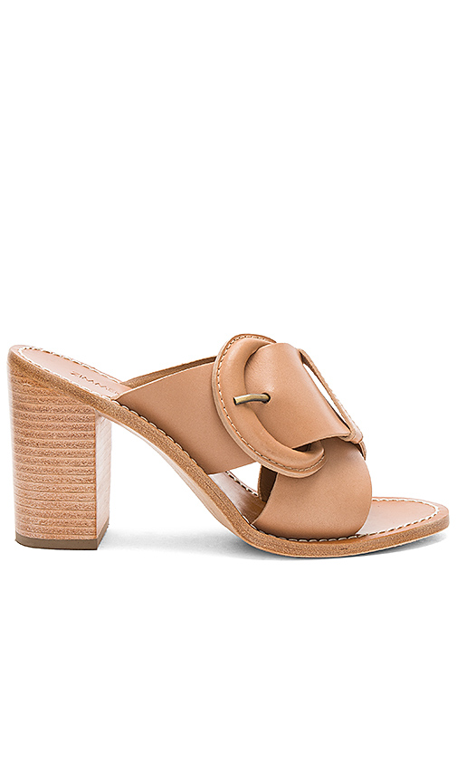 Zimmermann Buckled Mule in Tan