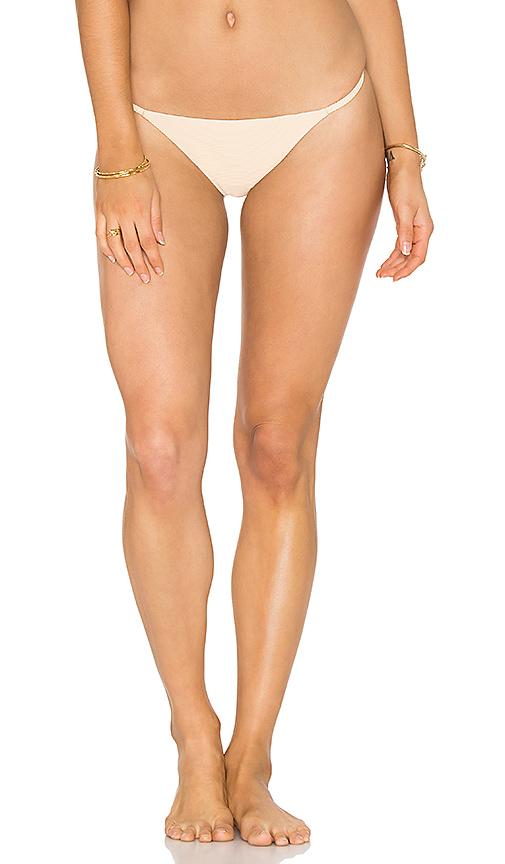 ZULU & ZEPHYR Dawn Bikini Bottom in Beige