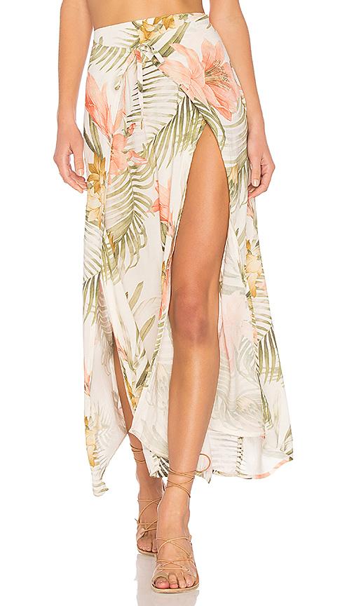 ZULU & ZEPHYR Vivienne Skirt in Cream. - size S (also in L,M)