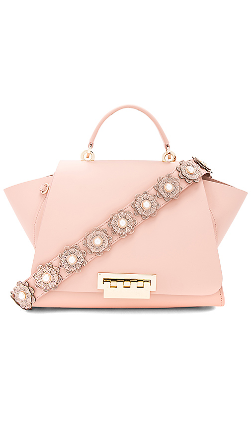 Zac Zac Posen Eartha Soft Top Handle Bag in Blush