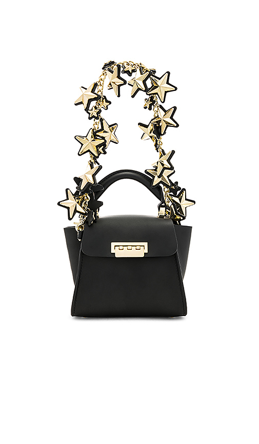 Photo of Zac Zac Posen Eartha Iconic Top Handle Mini Bag in Black - shop Zac Zac Posen bags sales