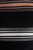 Image 6 of DEREK LAM 10 CROSBY Sheer Stripe Long Sleeve Dress in Black