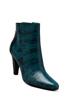 Image 2 of DEREK LAM 10 CROSBY Sapphire Bootie in Petrol Lizard Print