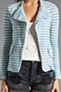 Image 3 of 19 4t Blazer in Blue Stripe