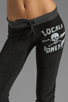 Image 4 of 291 Locals Only Track Pant in Vintage Black