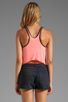 Image 2 of 291 Tiger Curved Hem Tank in Hot Lava