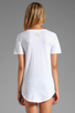 Image 2 of 291 Buffalo Kisses Short Sleeve Relax Tee in White
