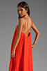 Image 1 of 6 SHORE ROAD Bungalow Backless Dress in Sunset