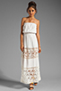 Image 2 of 6 SHORE ROAD Charlotte's Maxi Dress in Shell
