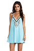 Image 1 of 6 SHORE ROAD On the Rocks Dress in Caribbean