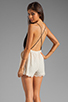 Image 1 of 6 SHORE ROAD Malay Lace Romper in Night