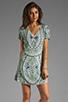 Image 1 of Antik Batik Hampton V Dress in Aqua