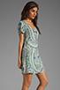 Image 3 of Antik Batik Hampton V Dress in Aqua