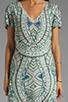Image 5 of Antik Batik Hampton V Dress in Aqua