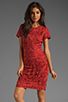 Image 1 of Antik Batik Baila Dress in Coral