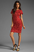 Image 2 of Antik Batik Baila Dress in Coral