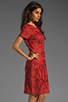 Image 3 of Antik Batik Baila Dress in Coral