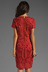 Image 4 of Antik Batik Baila Dress in Coral