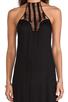 Image 4 of Acacia Swimwear Positano Crochet Maxi Dress in Storm