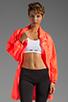Image 3 of adidas by Stella McCartney Long Jacket in Turbo