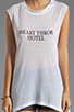 Image 4 of A Fine Line Abby Hotel Tank in White