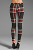 Image 3 of AGAIN Harding Stretch Lowrise Skinny Pant in Red Flannel