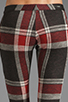Image 6 of AGAIN Harding Stretch Lowrise Skinny Pant in Red Flannel