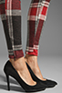 Image 7 of AGAIN Harding Stretch Lowrise Skinny Pant in Red Flannel