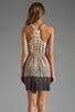 Image 4 of Akiko Tank Dress in Abacus Print