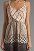 Image 5 of Akiko Tank Dress in Abacus Print