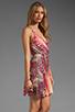 Image 3 of Akiko Tank Wrap Dress in Tropic Print