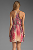 Image 4 of Akiko Tank Wrap Dress in Tropic Print