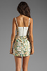 Image 4 of Alice + Olivia Daphine Bra Tank Tiered Skirt Dress in Multi