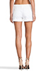 Image 3 of Alice + Olivia Cady Cuff Short in White