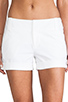 Image 4 of Alice + Olivia Cady Cuff Short in White