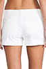 Image 6 of Alice + Olivia Cady Cuff Short in White