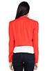 Image 3 of Alice + Olivia Morris Blazer in Red