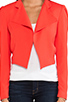 Image 4 of Alice + Olivia Morris Blazer in Red