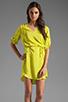 Image 1 of Amanda Uprichard Staci Dress in Lime