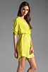 Image 3 of Amanda Uprichard Staci Dress in Lime